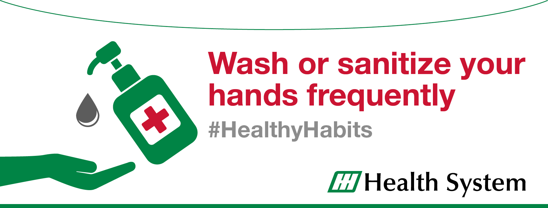 Wash/Sanitize your hands